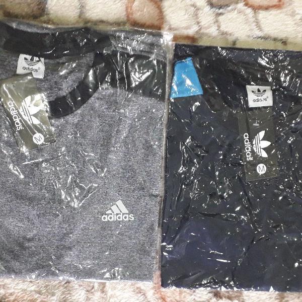 Camisas esportivas nike adidas puma