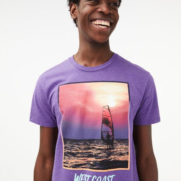 Camiseta aeropostale gráfico west coast