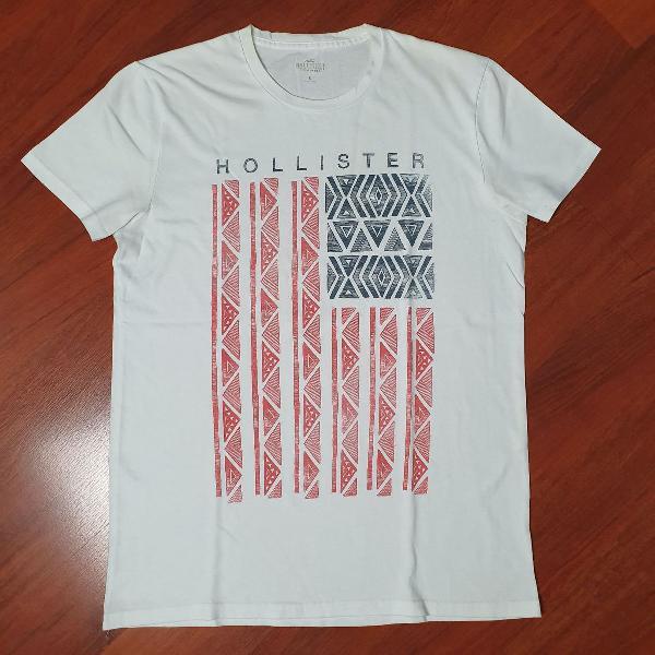 Camiseta hollister estampa original