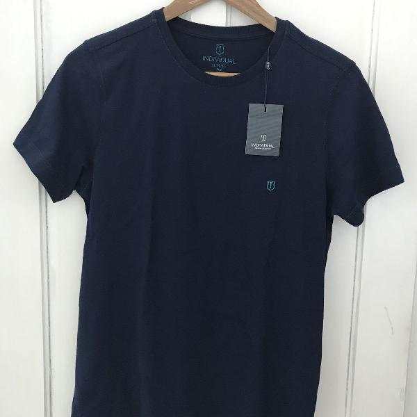 Camiseta individual pp slimfit azul