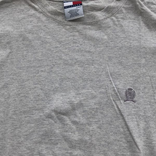 Camiseta masc tommy hilfiger cinza