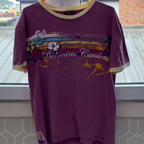 Camiseta masculina manga curta tamanho m marca cavalera