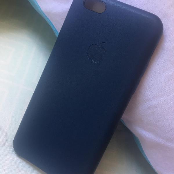 Case couro sintético iphone 6 /6s
