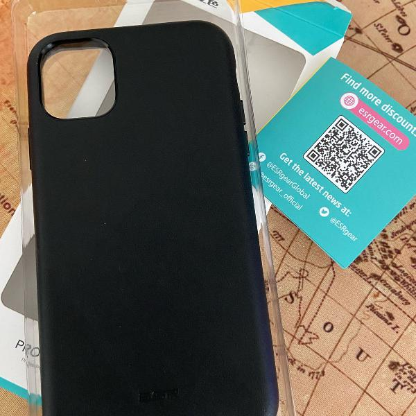 Case iphone 11 6.1 de couro esr