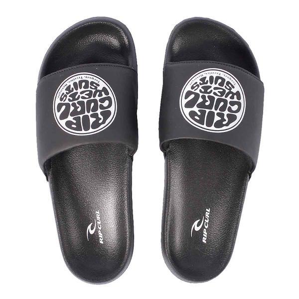 Chinelo slide rip curl round carver logo