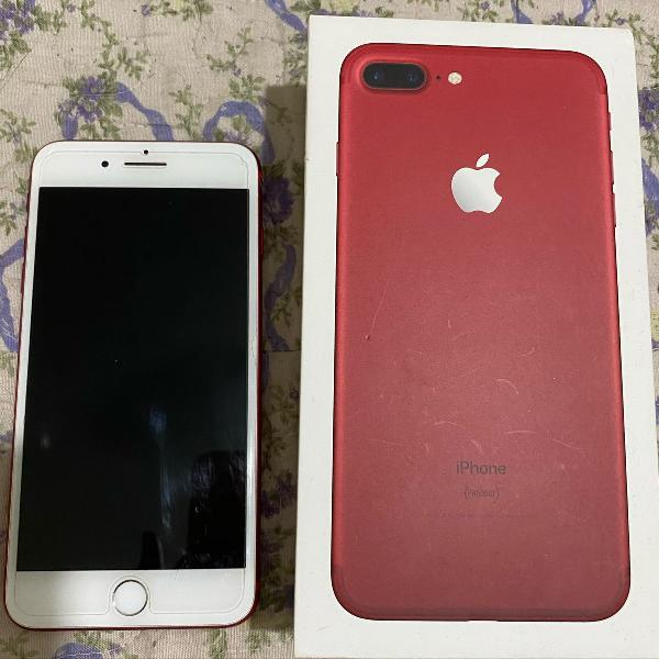 Iphone 7 plus red edition 256 gb