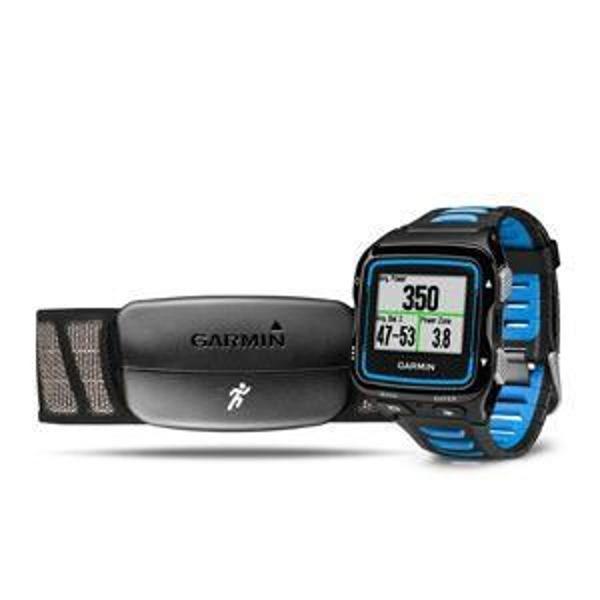 Kit relógio de corrida + cinta garmin forerunner 920xt