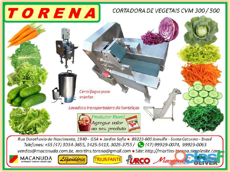 Máquina para picar verduras industrial torena
