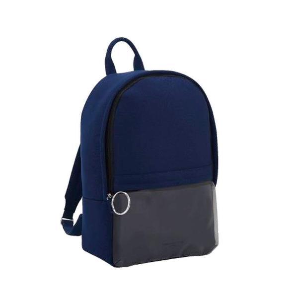 Mochila nylon exclusiva paco rabanne azul exclusiva nova