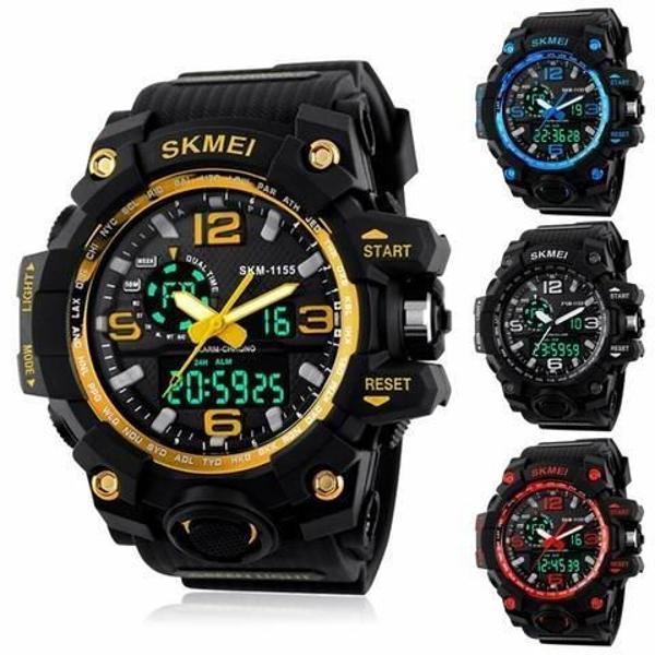 Relógio esportivo g-shock skmei original prova d'água
