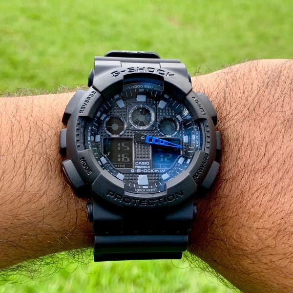 Relógio g-shock ga100