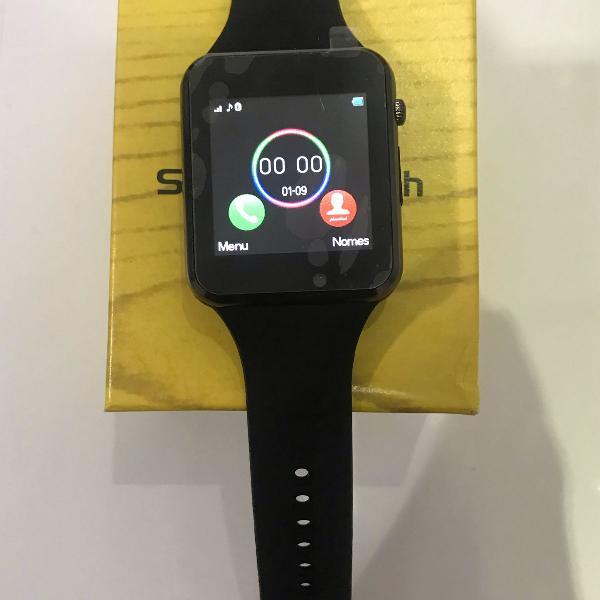 Relógio preto smart watch iwo series 4