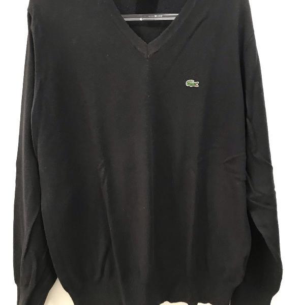 Suéter masculino lacoste