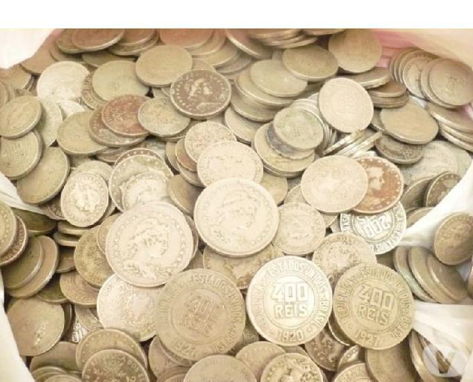 50 quilos de moedas antigas e variadas desde 1871 r$50 o kg