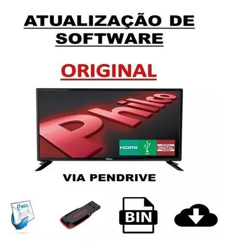 Atualização software tv philco todos os modelos