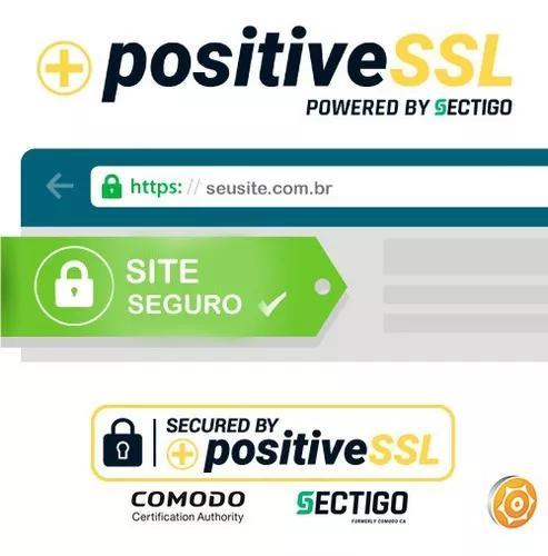 Certificado positive ssl - sectigo