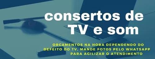 Consertos de tv e som