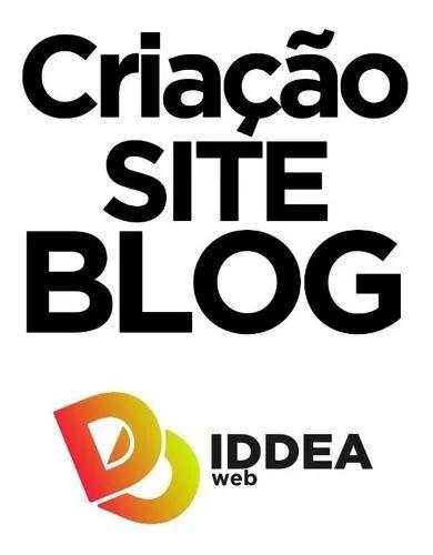 Criação site blog