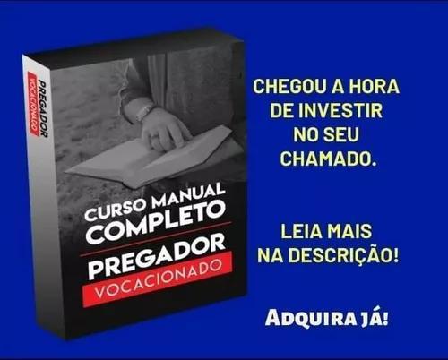 Curso manual completo do pregador vocacionado