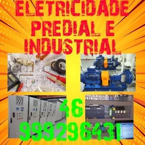 Eletricidade predial, comercial e industrial, conserto, inst