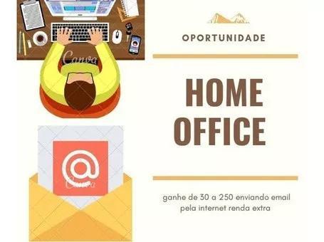 Home office:trabalhe