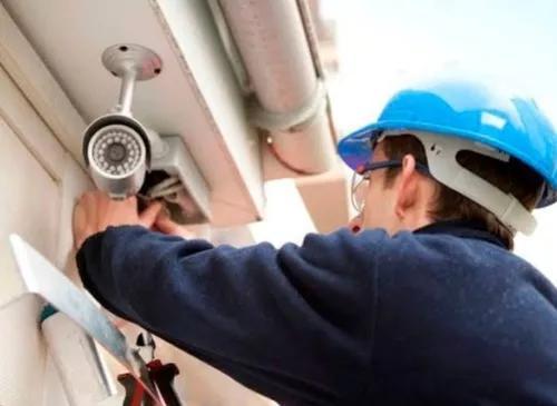 Instalação de câmeras de segurança com acesso via
