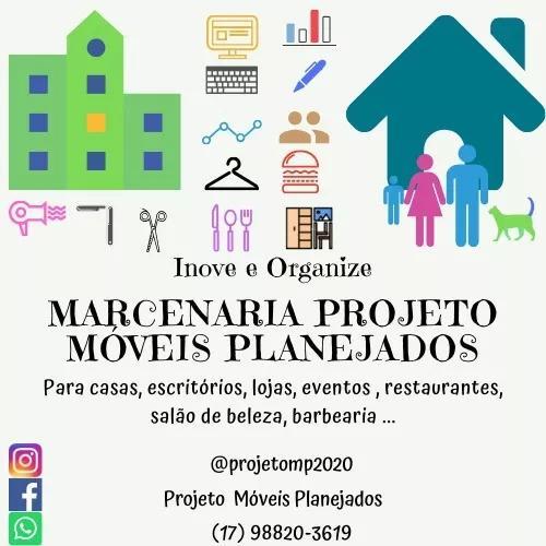 Marcenaria projeto móveis planejados