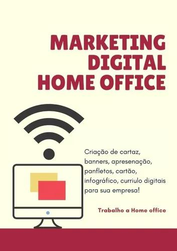 Marketing digital home office