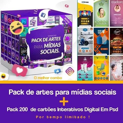 Mega pack para mídias sociais