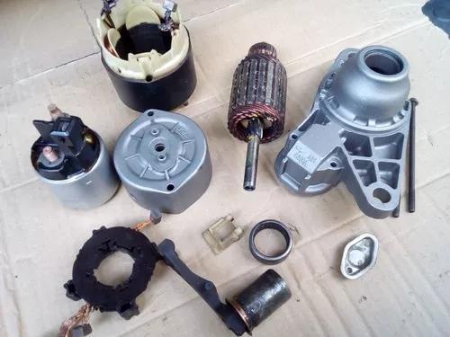 Recondicionamento de peças motores e alternadores.
