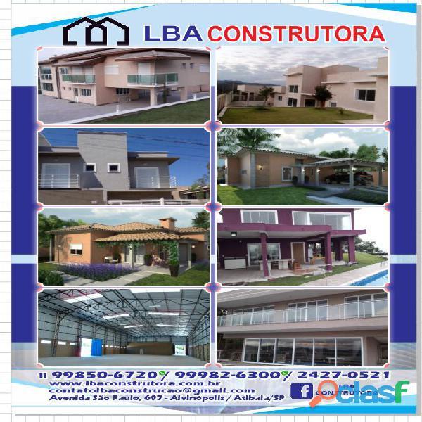Obras e Reformas   LBA Construtora   Empreiteira 8