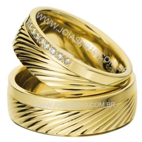 Alianças de casamento lindas - marcio joias