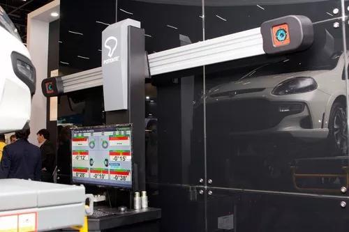 Alinhador tridimensional 3d c/ torre móvel e controle