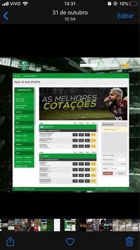 Alugue seu site/app de jogos esportivos