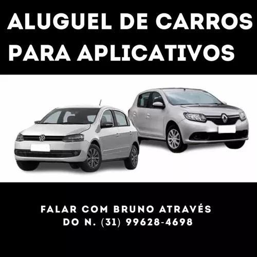 Aluguel de carros para aplicativos