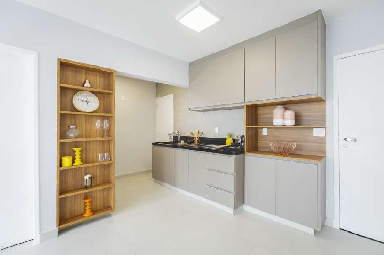 Apartamento com 84m² , 2 dormitórios e 1 vaga de garagem