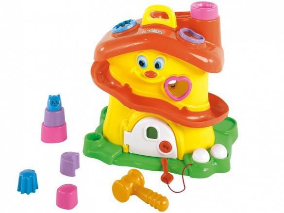 Brinquedo didático activity house