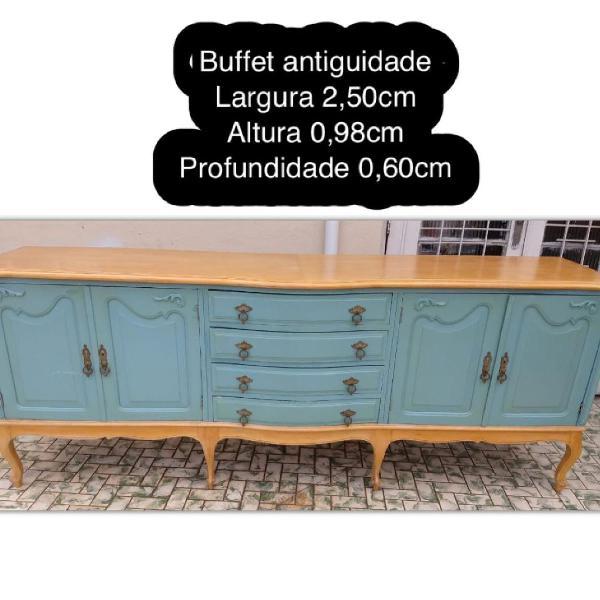 Buffet / aparador grande madeira maciça (vintage)