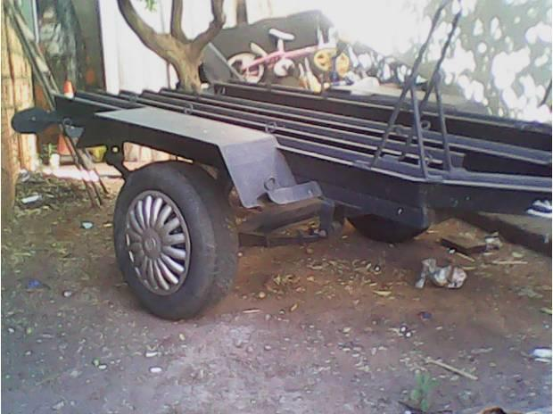 Carreta reboque 3 motos
