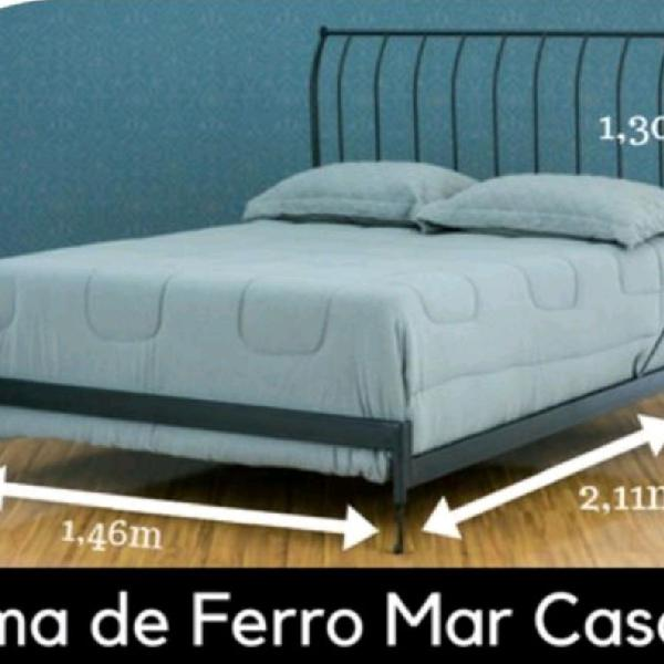 Cama de ferro - icamas - modelo: mar
