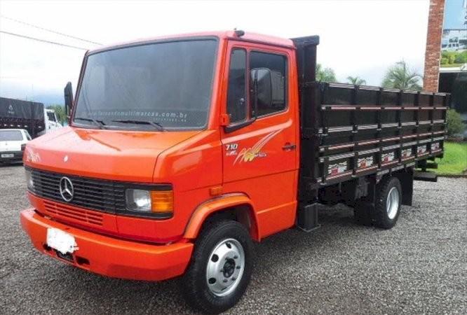 Caminhão mb 710 plus ano 2001 turbo intercooler veículo em