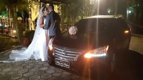 Carro de luxo para noivas e executivos