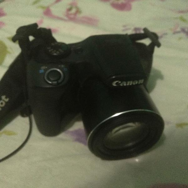Câmera canon sx520hs