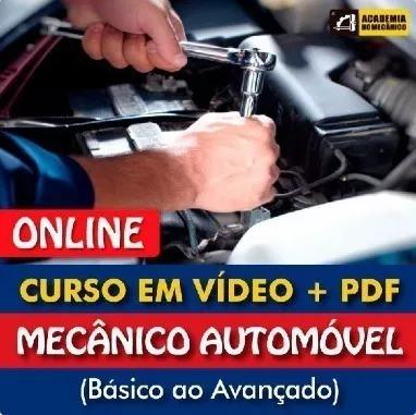 Curso mecânico de automóvel completo| 100% online