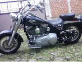 Harley davison heritage softail custom 2009