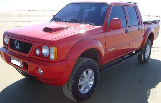 L200 gls 2.5 turbo diesel 4x4 2002 (2º dono)