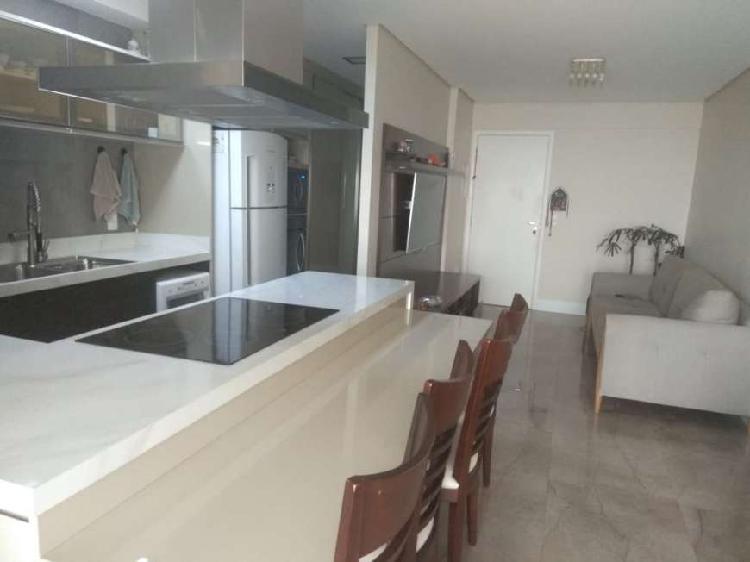 Lindo apartamento de 80 m2 totalmente mobiliado em são