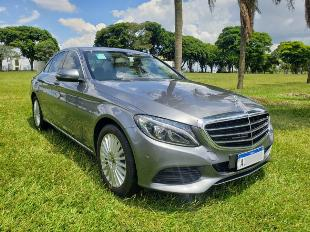 Mercedes benz c180 exclusive cinza 2018 com 8.000 km