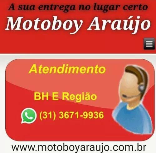 Motoboy araújo - serviço de moto-frete