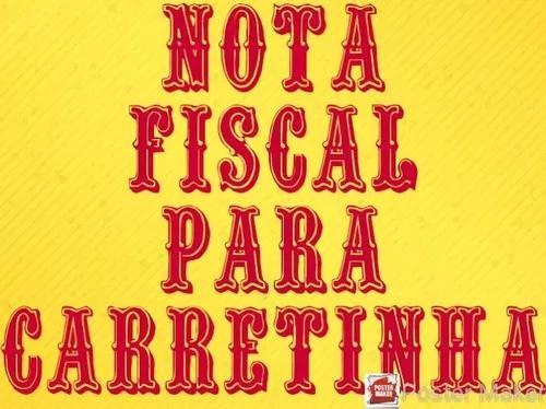Nota fiscal para regulamentar carreta..¿¿¿